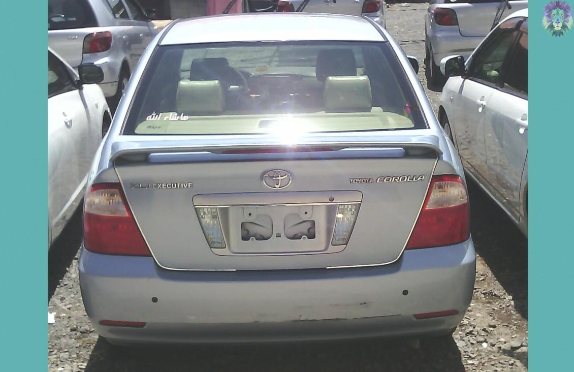 Toyota Corolla (Executive) 2007 » Mekinaye: Buy, Sell or