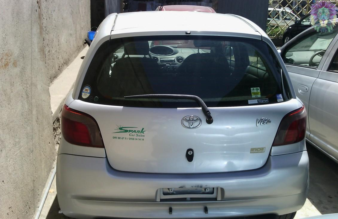 Toyota Vitz 2002 » Mekinaye: Buy, Sell or Rent Cars in Ethiopia