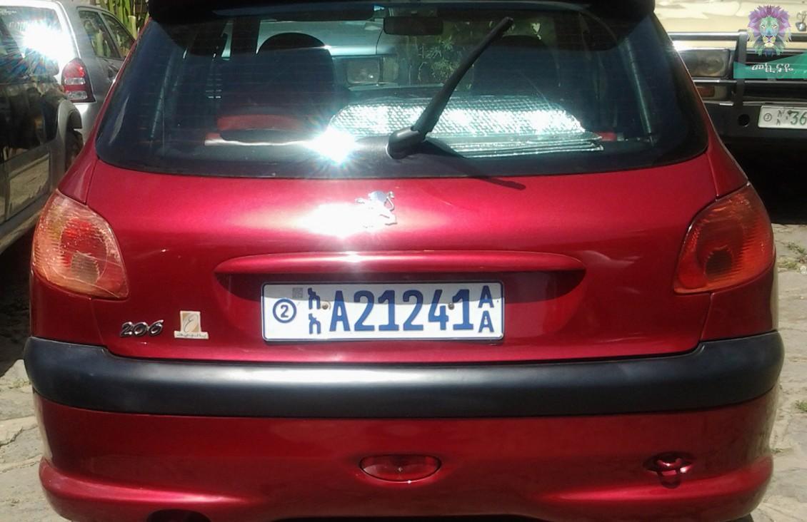 peugeot 206 2006 » mekinaye: buy, sell or rent cars in ethiopia