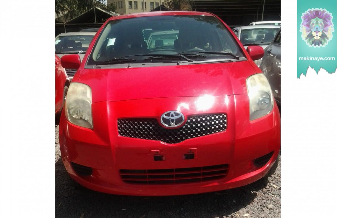 Toyota Vitz 2007 » Mekinaye: Buy, Sell or Rent Cars in Ethiopia